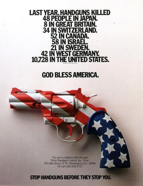 mangodebango:  Gun Control PSA by Rick Boyko, 1980.(Released shortly after the assassination of John Lennon)This message is still true 30 years later…