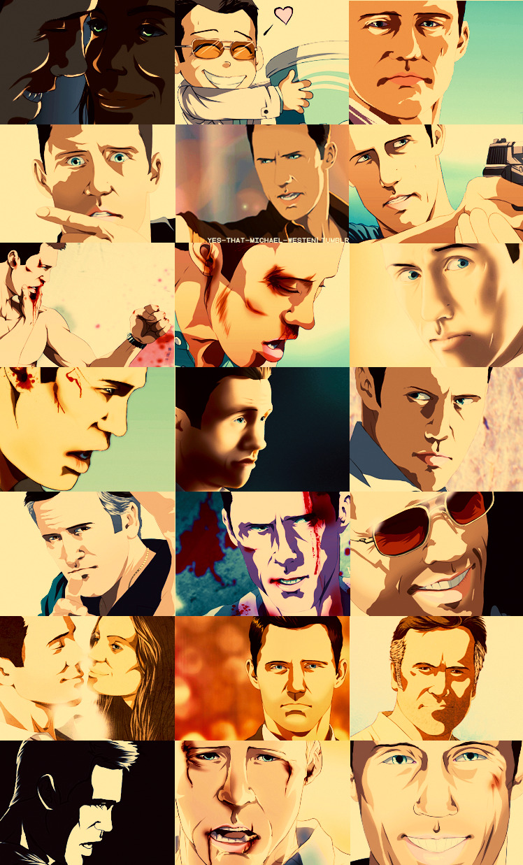 yes-that-michael-westen:  BURN NOTICE ART. High Quality/Colored Art By Kristy Seddon - Invisible Rain (yes-that-michael-westen)