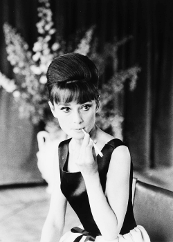 Audrey Hepburn photographed by Luc Fournol, 1962.