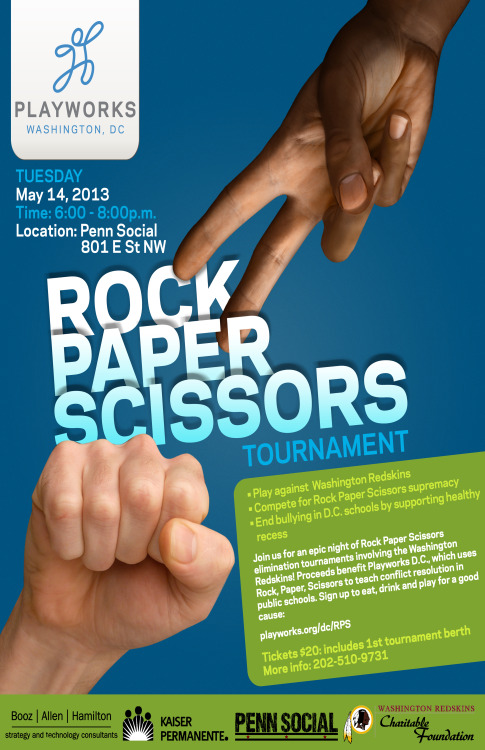 Rock Paper Scissor…YES!