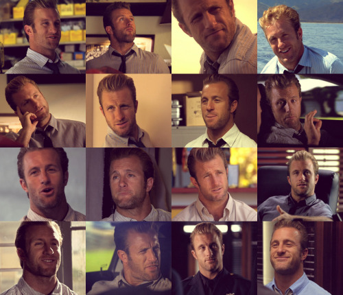 Danno looking at Steve [1/?] (Season 1)