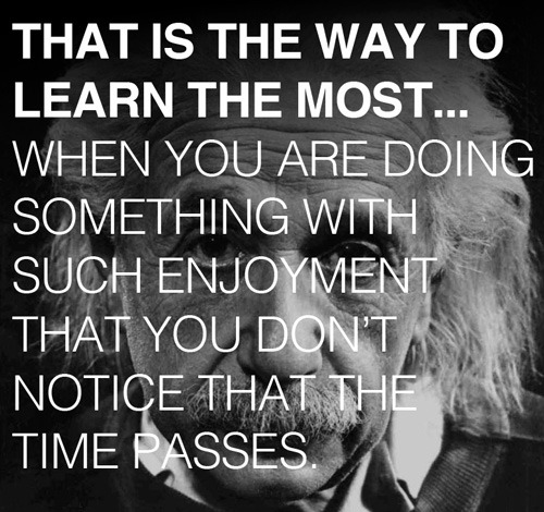 For Father's Day, a lesson from Albert Einstein to his son about how to learn anything. (More at Brain Pickings)