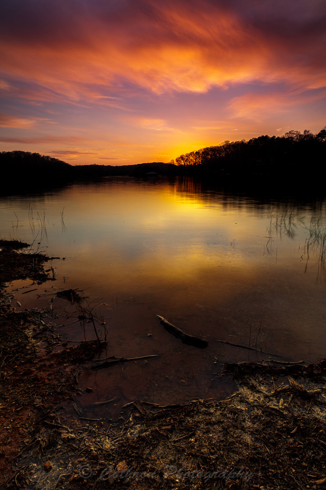 Fiery Reflection (by John Cothron)