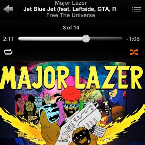 i was born to be, born to climb @majorlazer #FreeTheUniverse ❤💛💚