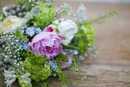 (via The Flower Magician: Wild Flower Wedding Bouquet (Images by Lottie Designs))