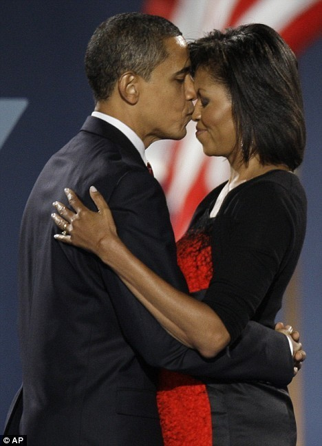 picsandquotes:  Check out The Obamas: The Cutest Presidential Couple! We think #9 is the cutest! - ad http://goo.gl/jPOck