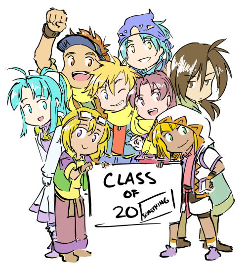 piikeisandaa:  13. School class photo! …Damn, this was finished quickly.
