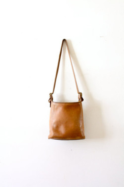 sooothe:  Vintage large carmel Coach purse/bag by Etsy