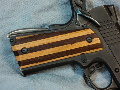 1911- I may have found a use for my 60 dollar block of zebra wood.