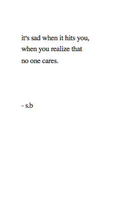 riseafterfalling:  late night sad poem.