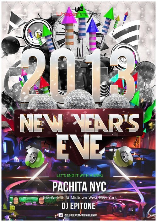 Come out to Pachita/Pacha on NYE's as I start your musical journey at 9pm! You will get your own VIP entrance into the club through Pachita's separate entrance into Pacha and avoid the bigger lines to the main room! Not only that, after 2AM we will all have access to the main floors in Pacha! I will be partying hard with you guys and watching Sander Van Doorn ROCK THE CLUB. Let's get weird!GET YOUR TICKETS HERE: http://whispernycnye.eventbrite.com/