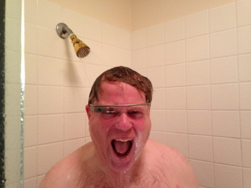 If you ever get Google Glass, don't follow Robert Scoble's lead.
