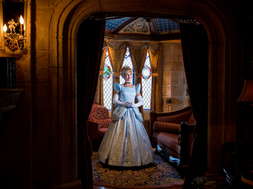 "disneyparksphotoproject:   ""Upstairs Living""  photographer: Noah Kalina  location: Cinderella Castle"