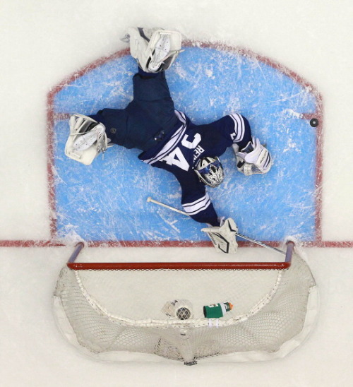 majorreisman:  Toronto Maple Leafs vs. Boston Bruins || 05/08/13 || Steve Russell