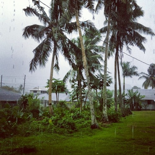 Raining very hard here in #Samoa but its beautiful!  #pagopago #nation19 #apdta #radiobums @nation19
