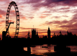 """London Silhouette"" by Michael Farruggia 