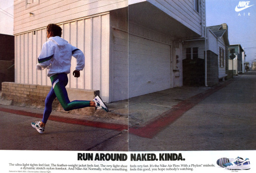 Nike Air Flow Ad, 1988