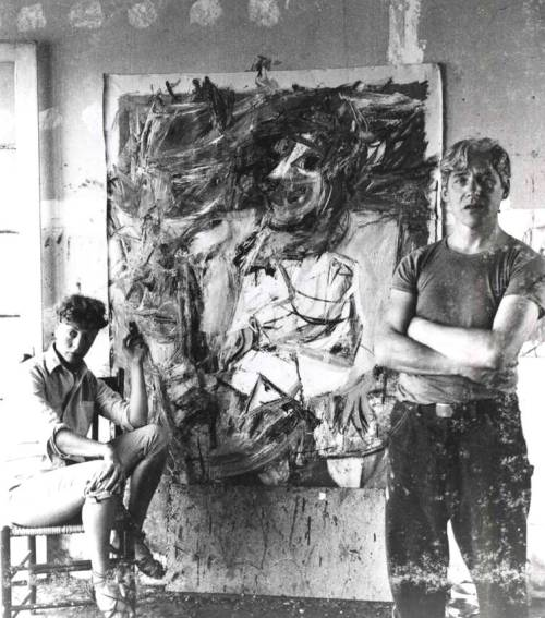 Elaine and William De Kooning