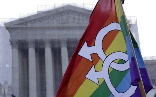 theatlantic:  How to Follow Today's Supreme Court Prop 8 Hearing, Voraciously  No more politicians switching sides. No more talk of what the polls mean. The long awaited gay marriage arguments at the Supreme Court have arrived, and the stakes are high for the most important civil rights cases before the nation's highest court in years. Here's a guide to keeping track of the proceedings, beginning with today's oral arguments on Hollingsworth v. Perry (aka Proposition 8) with expectations high and low, conclusions fast and slow, on social media and by way of a drinking game — with coffee, but still. Read more. [Image: Reuters]