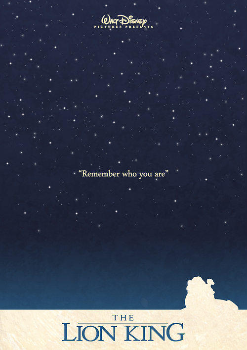 minimalmovieposters:   The Lion King by sindorman
