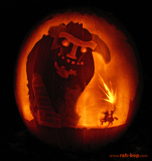My Shadow of the Colossus pumpkin
