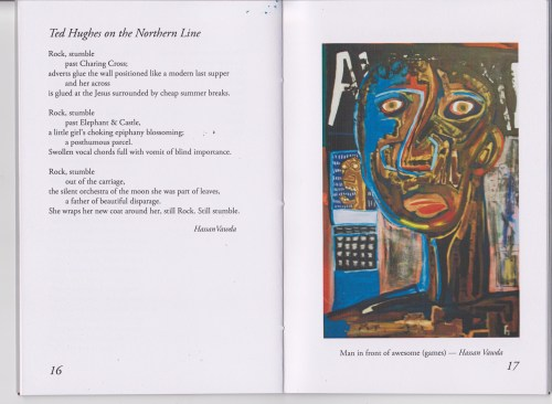 Find some of my poems and paintings in the Coppermill Poets Winter Anthology.