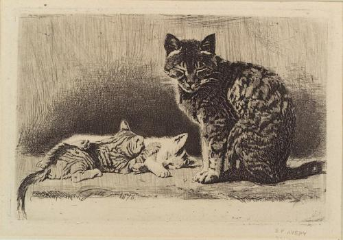 Is there anything better than a catnap in a sunbeam? These cats - sketched by Samuel Putnam Avery in 1876 and found in the Miriam and Ira D. Wallach Division of Art, Prints and Photographs - have the right idea and we suggest taking a page out of their book. In fact, why not take your favorite book, find your favorite spot in the sun and enjoy a relaxing Caturday…err, Saturday we mean!