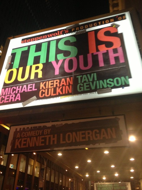 Opening night of This is Our Youth @ the Cort Theater