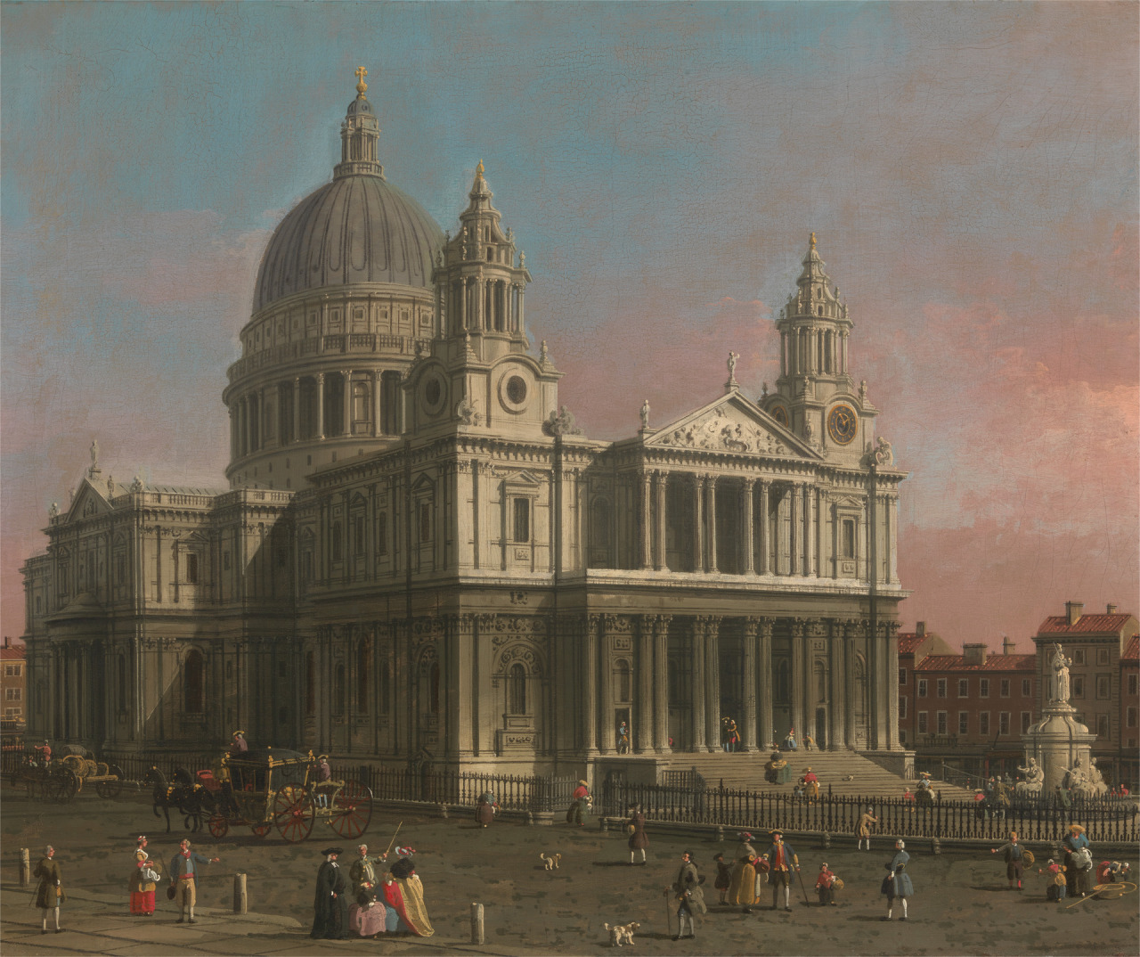St. Paul's Cathedral 1754 Canaletto