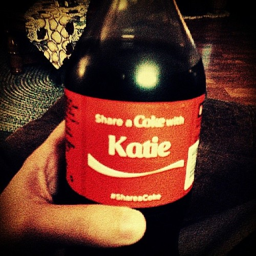 Found one with my name on it :-) #shareacoke
