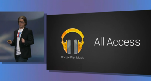 laughingsquid:  Google Play Music All Access, Google's Newly Announced Subscription Music Service  The possible integration with other Google services and the way they display files on your device give it a chance, but overall I don't think an application without a free tier could be a Spotify killer.  What does everyone else think of All Access?