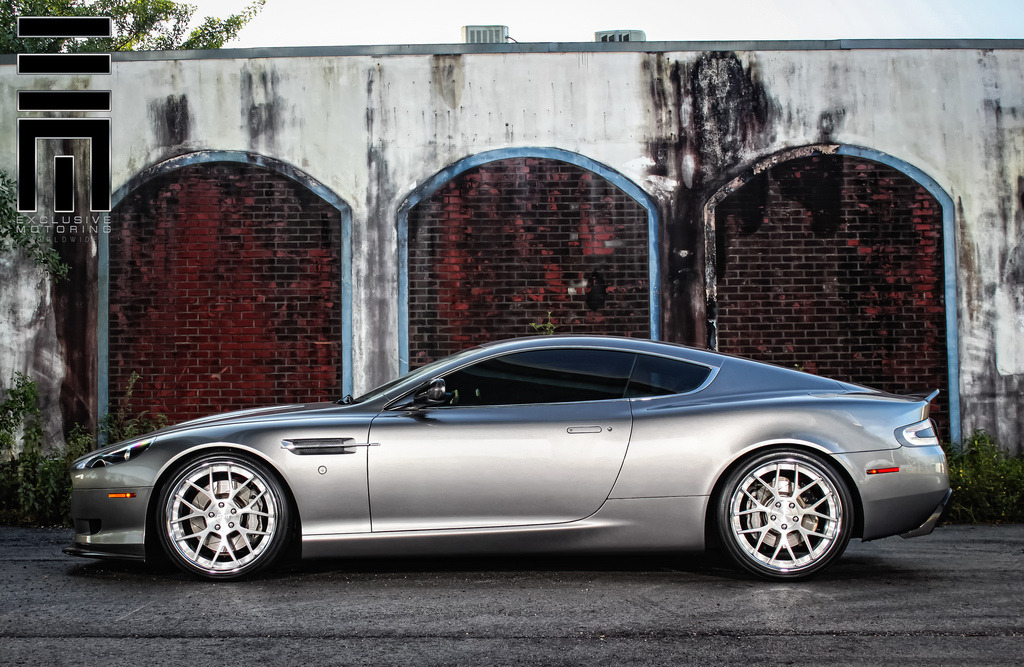 automotivated:  Exclusive Motoring Aston Martin DB9 (by Raymond N)