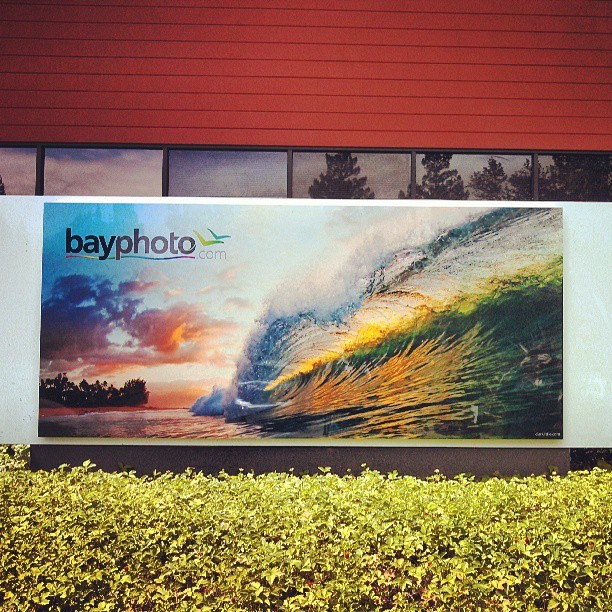 Yes!! Visiting the new @bayphotolab location #photography