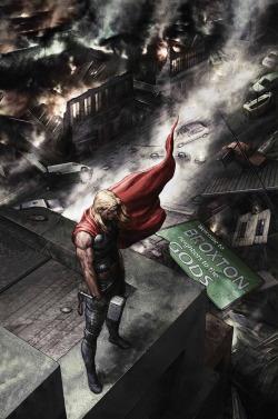 Thor thor odinson avengers God of Thunder agustin alessio