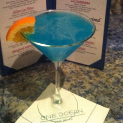 The Ocean Martini @ AzureaVia Foodspotting