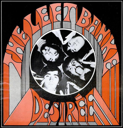 "savetheflower-1967:  THE LEFT BANKE ad for the Single, ""Desiree,"" 1967."