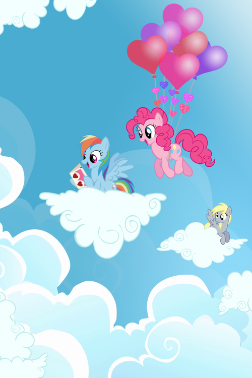 Pinkie's Special Delivery by *PixelKitties Not rain nor sleep nor fear of heights shall keep Pinkie Pie from her appointed Valentine's…uh, Hearts and Hooves Day rounds!  Now available as a tee shirt from We Love Fine, available for both manly mans and lady types!   Perfect for covering your shameful nakedness as well as celebrating life, love, and technicolor mini horses! Also now available: Hearts and Dr. Hooves 8 Bit Legend of Rarity