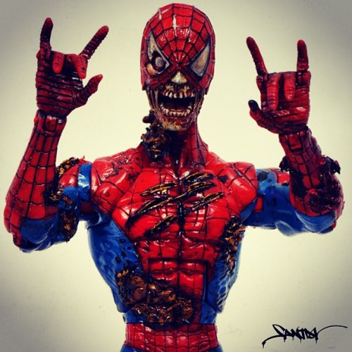 Party on, SpiderZombie.
