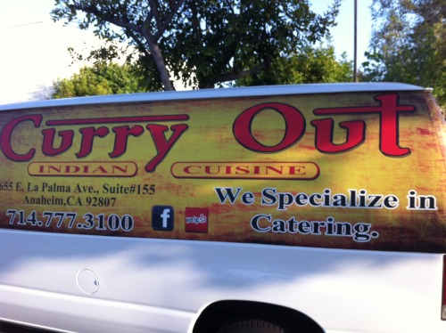 Curry Out - An Indian restaurant spotted by Laura R. in Anaheim, CA. If only they did delivery I'd eat there Na'an stop!