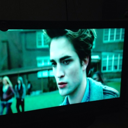 Twilight marathon tonight with @mskeinajane. Namiss ko si Edward and Jacob (hindi si Bella). Hahaha.