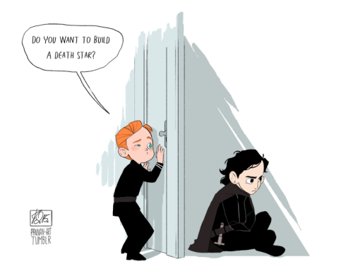 It doesn't have to be a Death Star, Kylo  :C