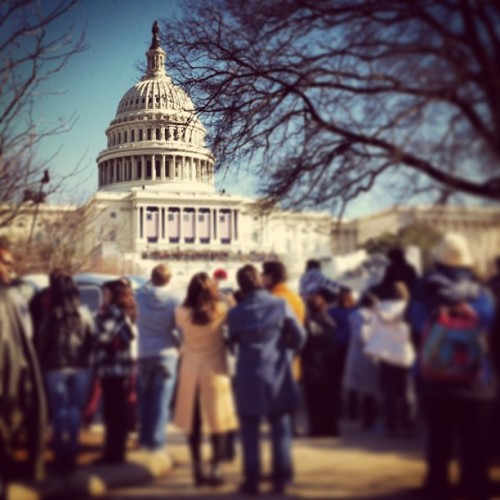 One more day… #inauguration  (at West Front Capitol)