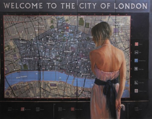 Nadia Tsakova  Welcome to the City of London