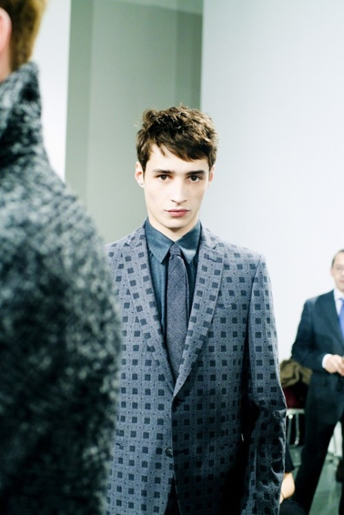 garcode:  Fendi AW13 backstage ph by Luca Campri