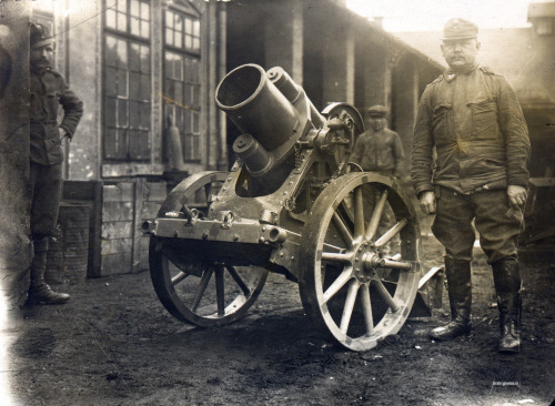 K.u.K Schwerer 25cm Minenwerfer a/A (mine-thrower) via drakegoodman