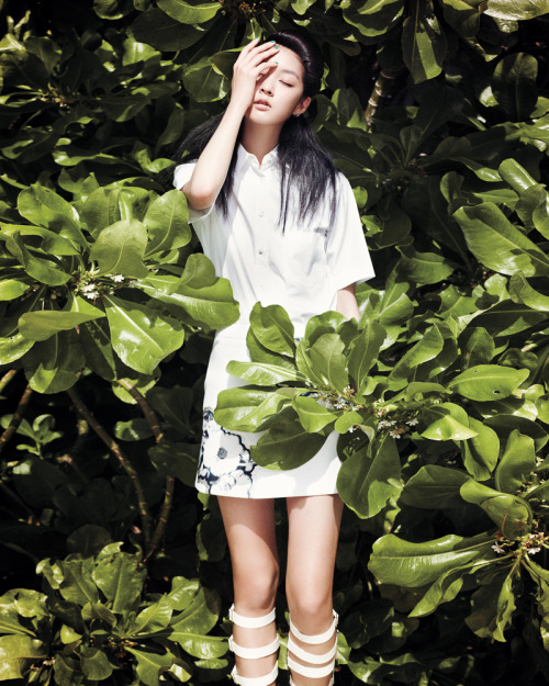 jeou:  Kang So Young for Vogue Girl Korea, June 2012