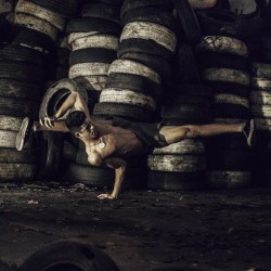 ryanishka:  dancerboys:  13-05-151  at first I thought those tires in the background were giant Oreos