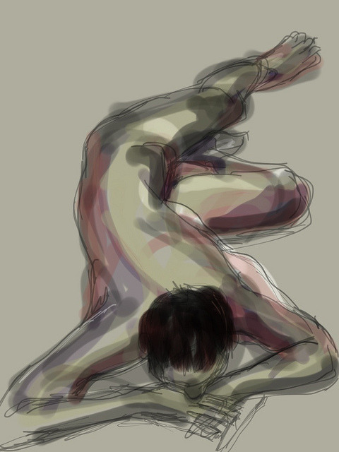 Ipad Lifedrawings - Lucas on Flickr.
