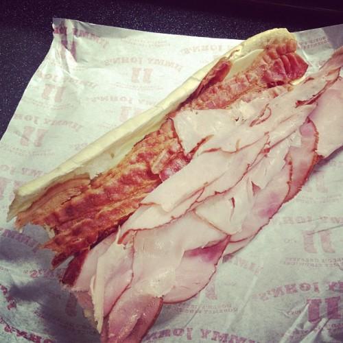 Extra bacon please. #morebacon #dabio #dablife #jimmyjawns