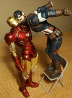 iron man Captain America Civil War